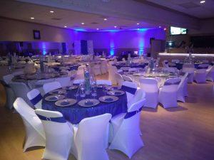 Glitzy 50th Birthday - A Party Hall, Miami, Florida